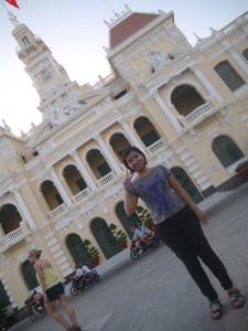 Cato at the Ho Chi Minh City Hall